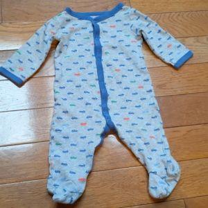 5/$10 Carter's baby boy sleep n play